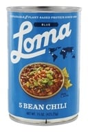 Loma Blue Vegan 5 Bean Chili - 15 oz.