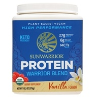 Sunwarrior - Warrior Blend Plant-Based Organic Protein Vanilla - 375 Grams