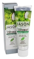 JASON Natural Products - Simply Coconut Strengthening Toothpaste Coconut Mint - 4.2 oz.