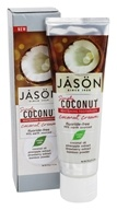 JASON Natural Products - Simply Coconut Whitening Toothpaste Coconut Cream - 4.2 oz.