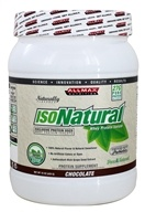 AllMax Nutrition - IsoNatural Whey Protein Isolate Chocolate - 15 oz.