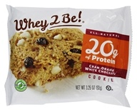 Whey 2 Be - All Natural Protein Cookie Cran-Orange White Chocolate - 3.25 oz.