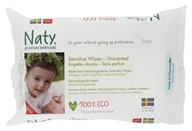 Naty - Sensitive Wipes Lightly Scented - 56 Wipe(s)