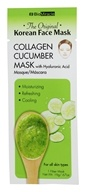 BioMiracle - The Original Korean Collagen Cucumber Face Mask with Hyaluronic Acid - 0.67 oz.