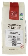 Organic Sprouted Spelt Flour - 32 oz. by One Degree Organic Foods