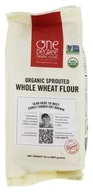 Organic Sprouted Whole Wheat Flour - 32 oz. by One Degree Organic Foods
