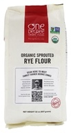 Organic Sprouted Rye Flour - 32 oz. by One Degree Organic Foods