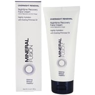 Mineral Fusion - Overnight Renewal Recovery Face Cream - 3.4 oz.