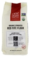 Organic Sprouted Red Fife Flour - 32 oz. by One Degree Organic Foods