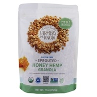 Organic Sprouted Oat Granola Honey Hemp - 11 oz. by One Degree Organic Foods