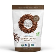 One Degree Organic Foods - Organic Sprouted Oat Granola Quinoa Cacao - 11 oz.