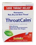 Boiron - ThroatCalm Sore Throat Relief - 60 Tablets