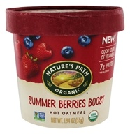 Hot Oatmeal Summer Berries Boost - 1.94 oz. by Nature's Path Organic