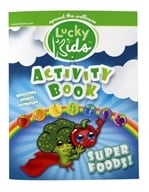 LuckyKids Activity Book by LuckyVitamin Gear