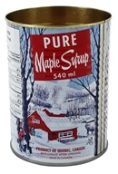 Tin Candle with a Wooden Wick Pure Real Maple Syrup - 15.9 oz. by Seracon