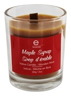Votive Candle Wooden Wick Maple Syrup - 2 oz. by Seracon