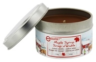 Travel Tin Candle Cotton Wick Maple Syrup - 3.8 oz. by Seracon
