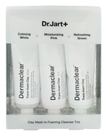 Dr. Jart+ - Clay Face Mask to Foaming Cleanser Trio