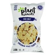 Cassava Root Chips Sea Salt - 5 oz. by Plant Snacks