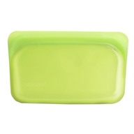 Reusable Silicone Snack Storage Bag Lime - 9.9 oz. by Stasher