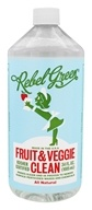 All Natural Fruit & Veggie Clean - 34 fl. oz. by Rebel Green