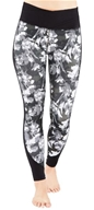 Women's Wrap Up Legging Digital Floral - Small