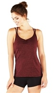 Cross Strap Cami Ruby Heather - Large