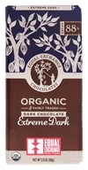 Cioccolata fondente biologica e giustamente scura Estrema scurità 88 % Cacao - 2.8 oz. by Equal Exchange
