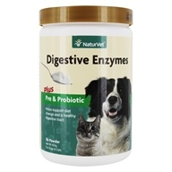 Digestive Enzymes Powder For Dogs & Cats - 1 lb.
