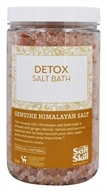 Salt Skill - Himalayan Salt and Essential Oil Blend Detox Bath Soak - 32 oz.
