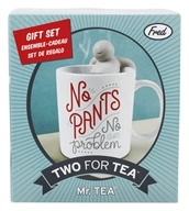 Two For Tea Mr. Tea Infuser & Mug Gift Set by Fred & Friends