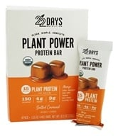 22 Days Nutrition - Plant Power Protein Bar Salted Caramel - 4 Pack