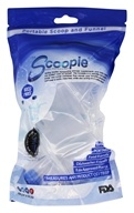 Portable Scoop & Funnel 60cc/90cc Clear - 2 Pack