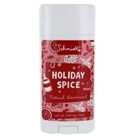 Natural Deodorant Stick Holiday Spice - 3.25 oz.