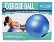 Exercise Ball Anti-Burst Blue - 55 cm. by Relaxus