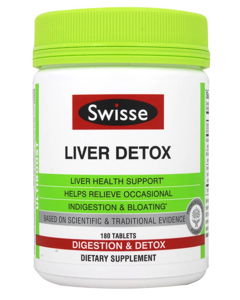 Ultiboost Liver Detox - 180 Tablet(s) by Swisse