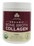 Polvere di collagene di brodo di ossa organico Pure - 15.9 oz. by Ancient Nutrition