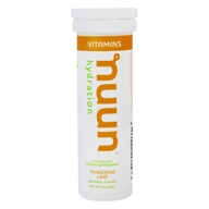 Hydration Effervescent Vitamin Supplement Tangerine Lime - 12 Tablets
