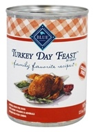 Family Favorite Recipes Canned Dog Food Turkey Day Feast - 12.5 oz.