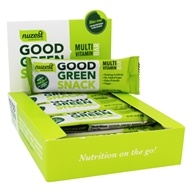 Nuzest - Good Green Snack Multi Vitamin Bar - 12 Bars