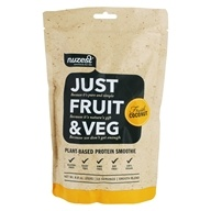 Just Fruit & Veg Plant-Based Protein Smoothie Powder Fresh Coconut - 8.8 oz.
