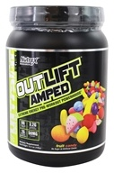 Nutrex - OutLift Amped Extreme Energy Pre-Workout Powerhouse Powder UltraFit Series Fruit Candy - 15.4 oz.