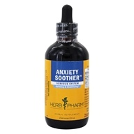 Herb Pharm - Anxiety Soother Nervous System Liquid - 4 fl. oz.