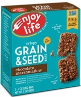 Gluten Free Allergy Friendly Grain & Seed Bars Chocolate Marshmallow - 5 Pack by Enjoy Life Foods