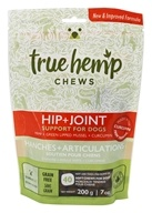 True Hemp - Hip + Joint Support Chews For Dogs - 40 Soft Chews