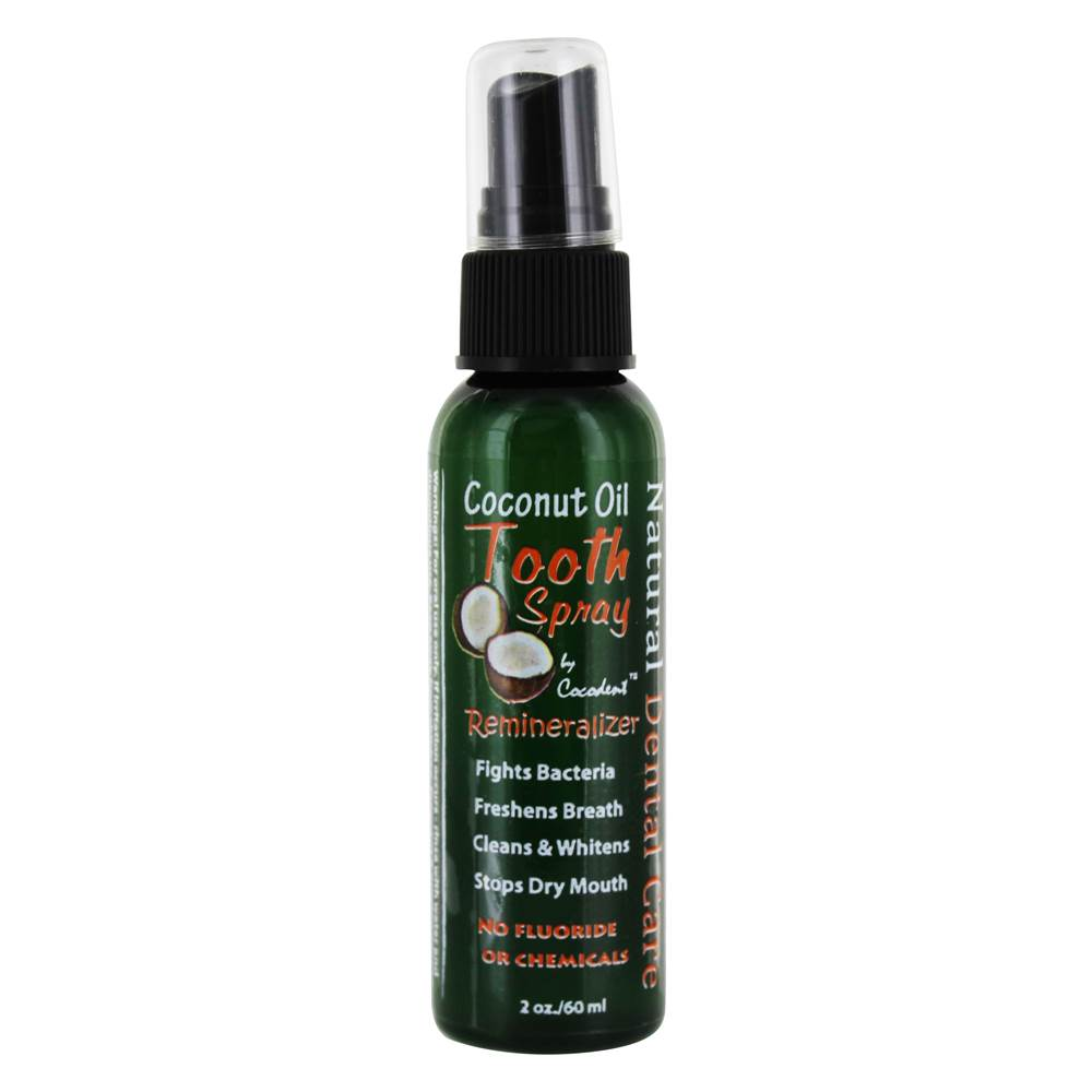 Coconut Oil Tooth Spray Remineralizer - 2 fl. oz.