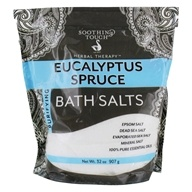 Purifying Bath Salts Eucalyptus Spruce - 32 oz.