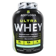 Bodylogix - Ultra Whey Protein Isolate Primary Source Powder Chocolate Mint - 4 lbs.
