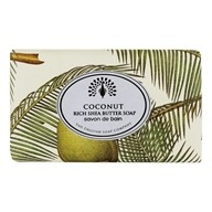 Rich Shea Butter Bar Soap Coconut - 7 oz. by The English Soap Company