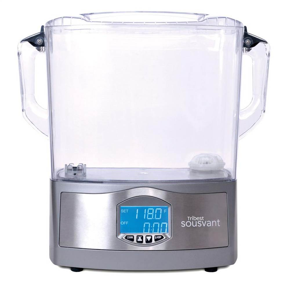 Sousvant All in One Sous Vide Machine SV-101-B Silver by TriBest